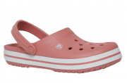Sandália Crocband Feminino - Rosa Branco
