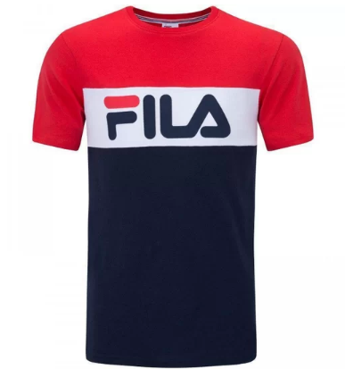 Camiseta Fila Letter Colors - Masculina