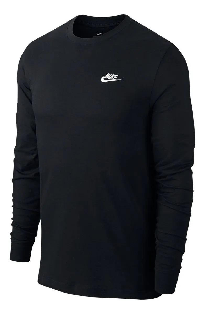 Camiseta Nike NSW Manga Longa Masculina