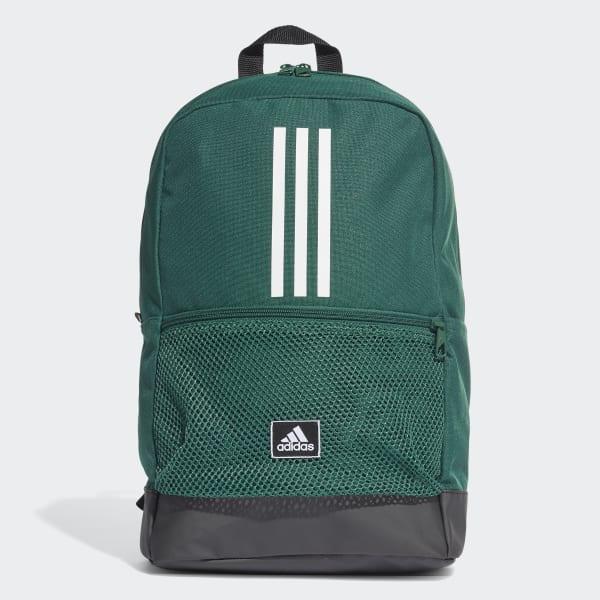 Mochila Adidas Clas BP 3S Verde e Preto