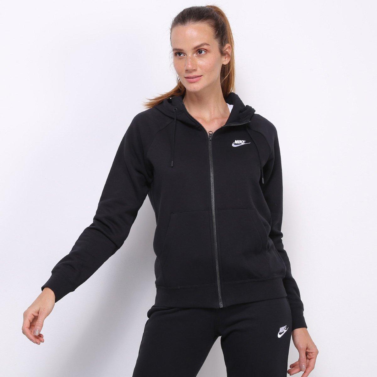Moletom  Nike Essential NSW c/ Capuz Feminino