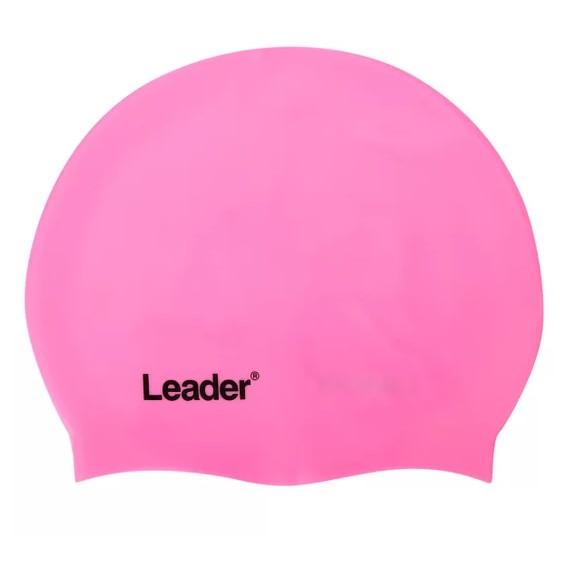 Touca Leader 100% Silicone Para Natação