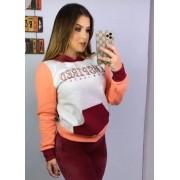 Blusa Moletom Color Inspired