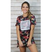 T-Dress Estampada Amazing