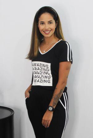 Camiseta Galões Amazing V.A
