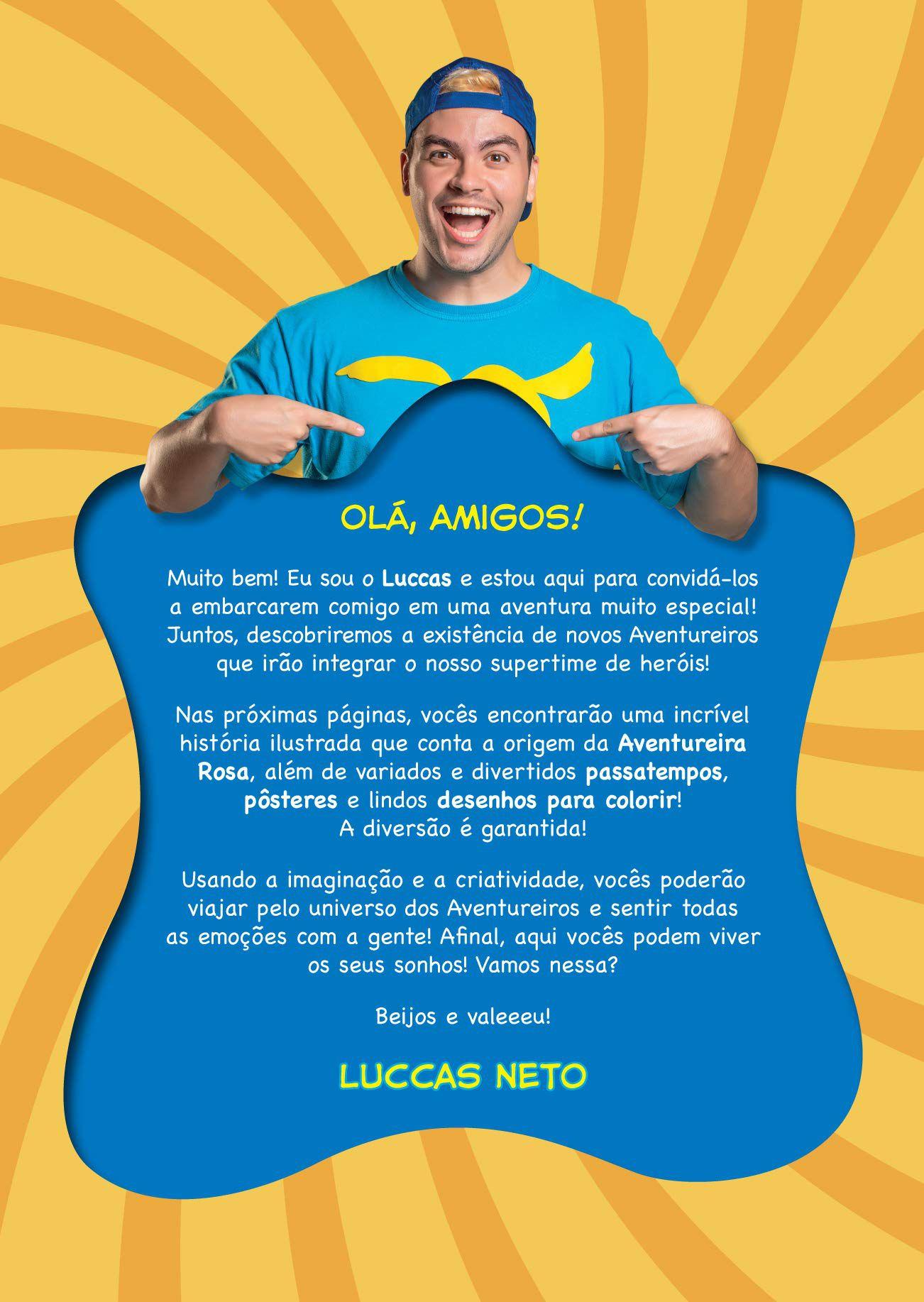 LUCCAS NETO E OS AVENTUREIROS