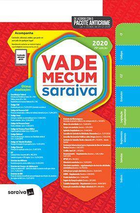 VADE MECUM SARAIVA 2020 - 29° EDIÇÃO