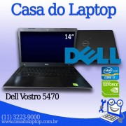 Laptop Dell Vostro 5470 Intel i7 de 4a. Geração 8 GB memória e 500 GB disco com placa de vídeo de 2 GB Nvidia