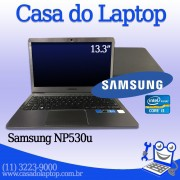 Laptop Samsung NP530U Intel i3 4 GB memória 500 GB disco rígido ( ssd opcional )
