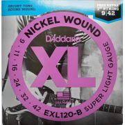 ENCORDOAMENTO D'ADDARIO EXL120-B PARA GUITARRA 0.09
