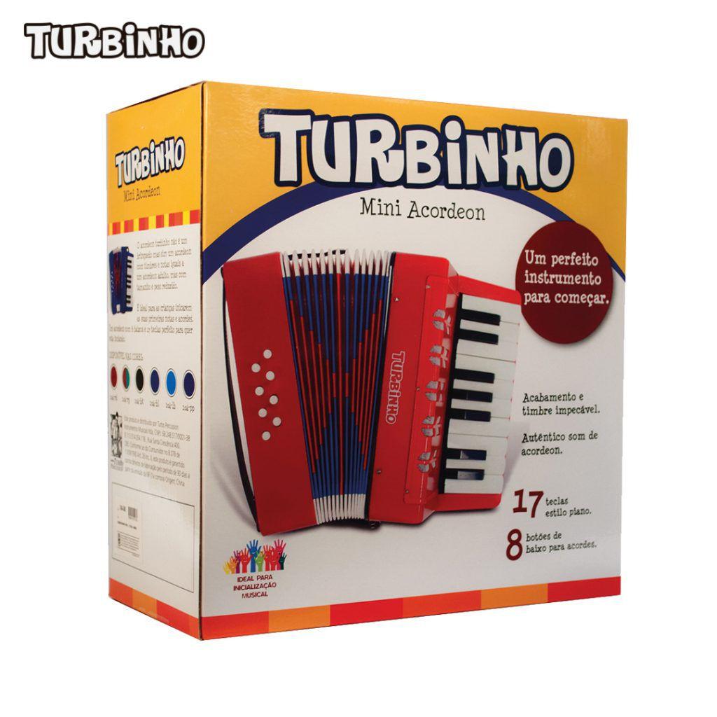 ACORDEON TURBINHO 104-RD