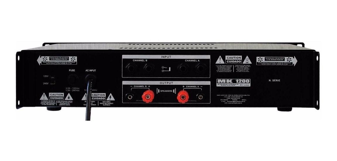 AMPLIFICADOR MARK AUDIO MK 1200