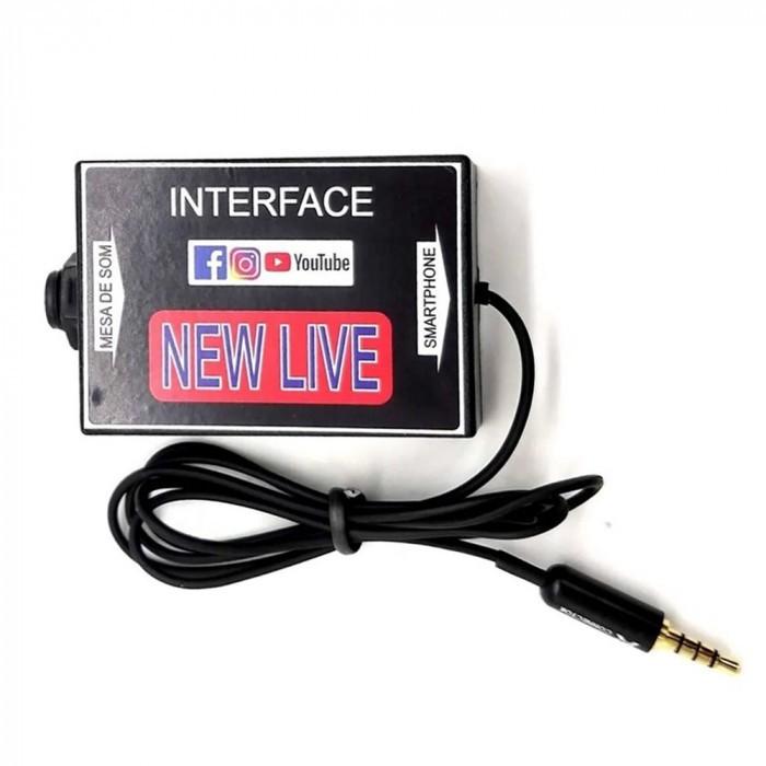 INTERFACE PARA CELULAR NEW LIVE
