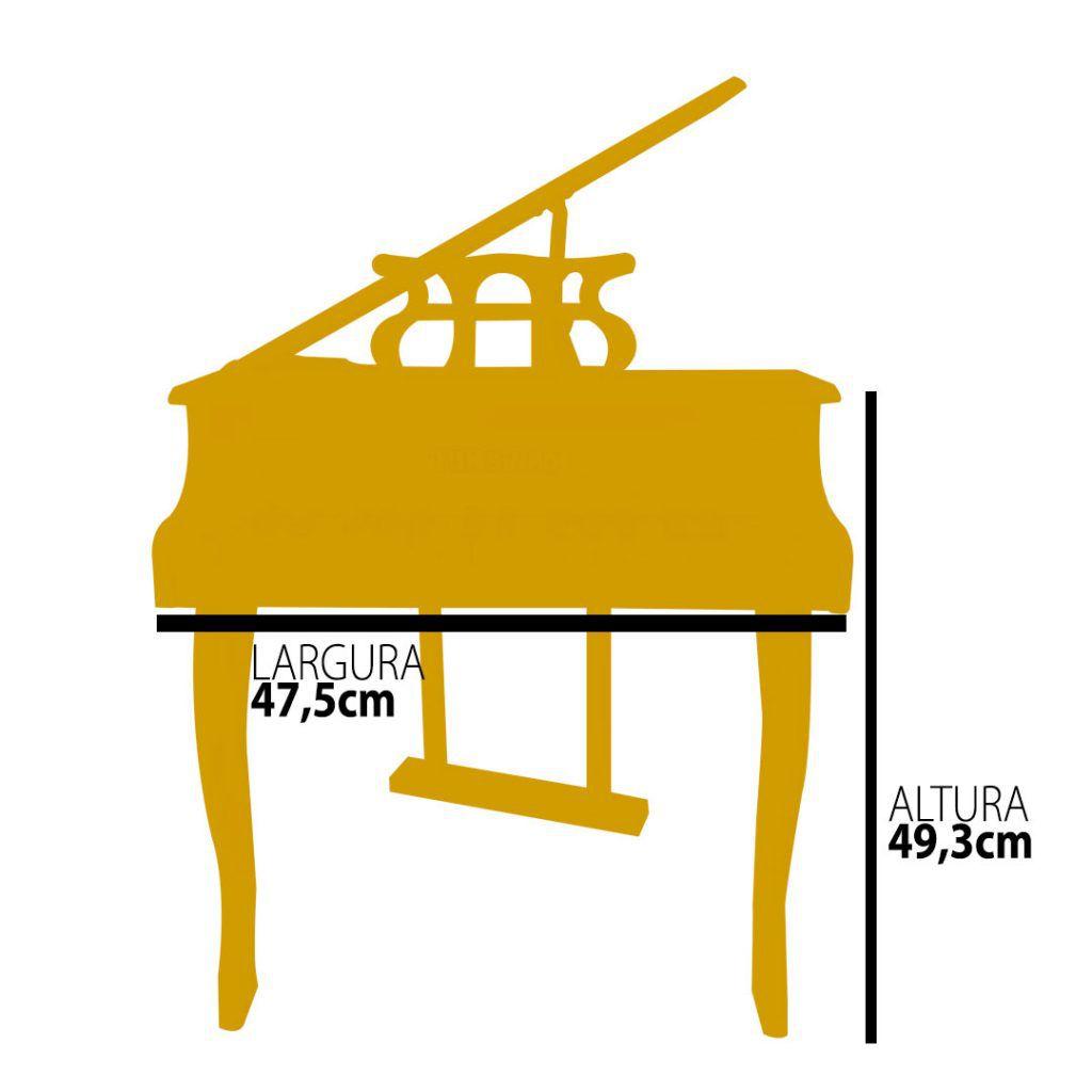 PIANO DE CAUDA – BRANCO