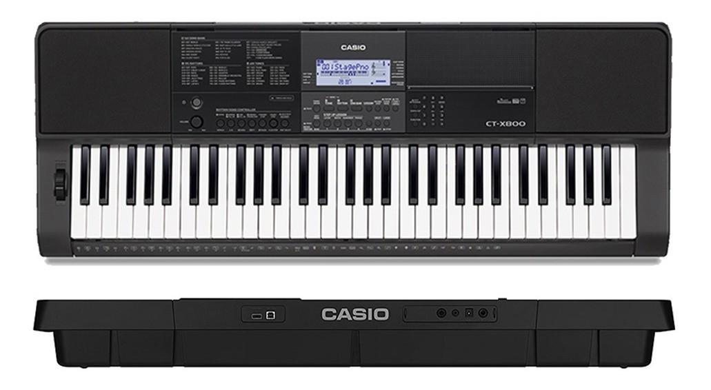 """Teclado Casio 5/8"""" CTX800"""