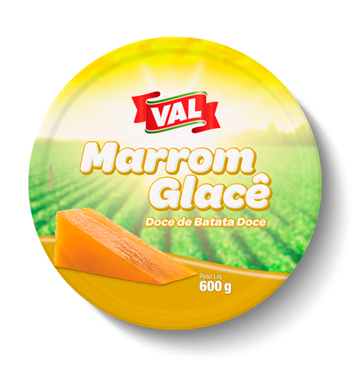 Marrom Glacê Val Lata 12 x 600 g