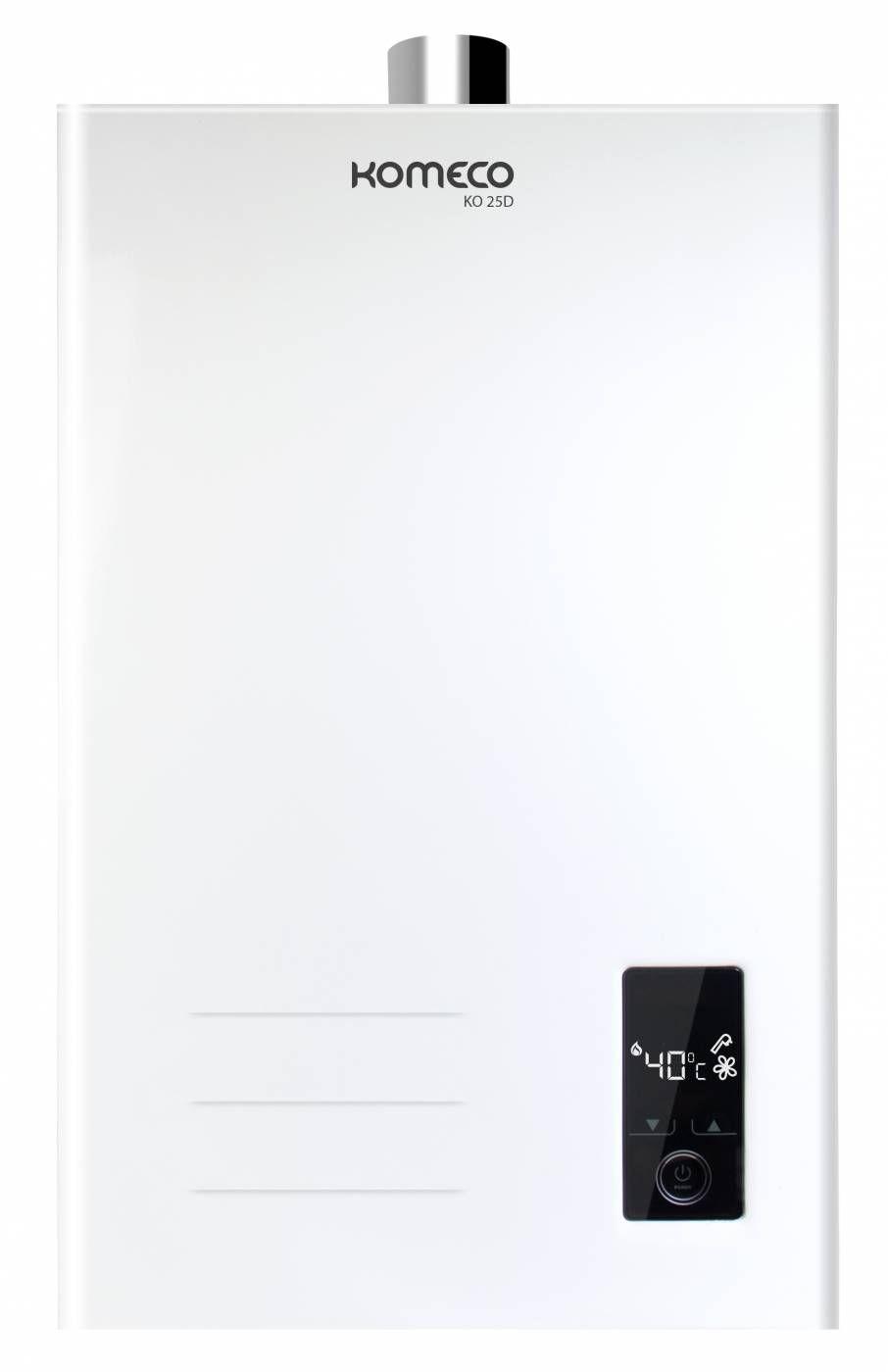 Aquecedor a Gás Komeco KO25D branco gás natural