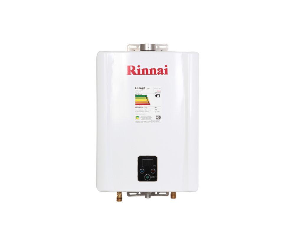 Aquecedor de água a Gás Rinnai REUE211FEH TOP