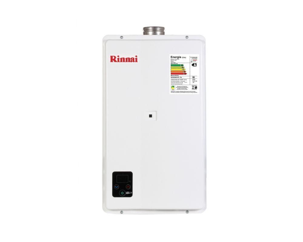 Aquecedor de água a Gás Rinnai REUE27 TOP
