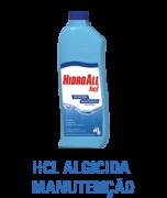 Hcl Algicida manutenção Hidroall 1 Lt