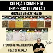 Coleção Completa Temperos do Valtão
