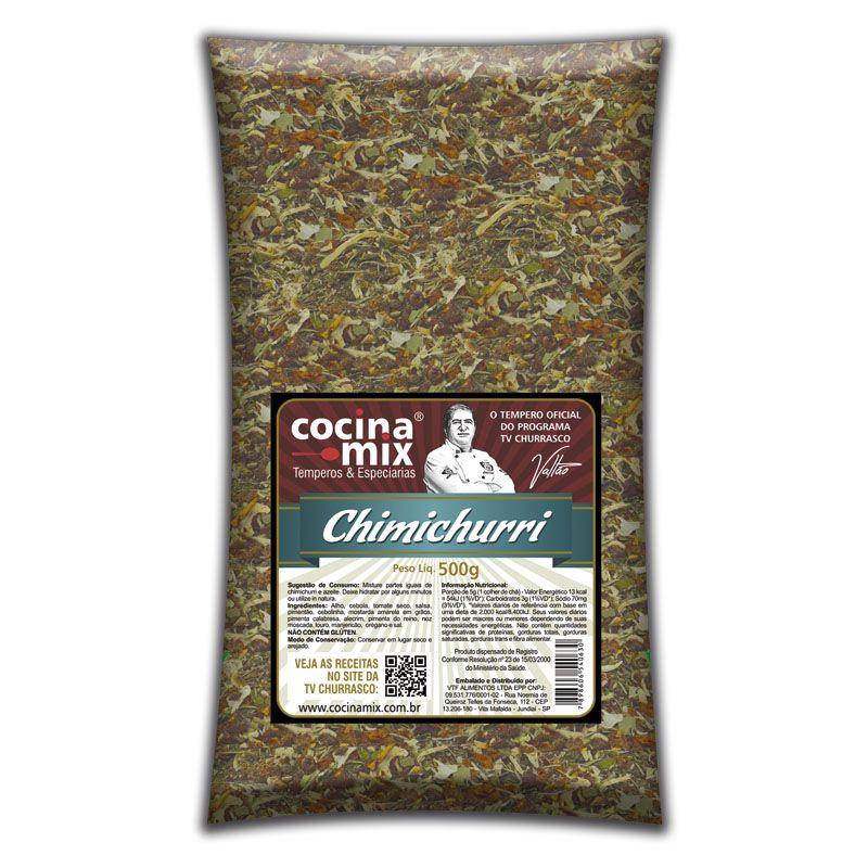 Chimichurri - Tempero para Churrasco Cocina Mix - 500g -  FOOD