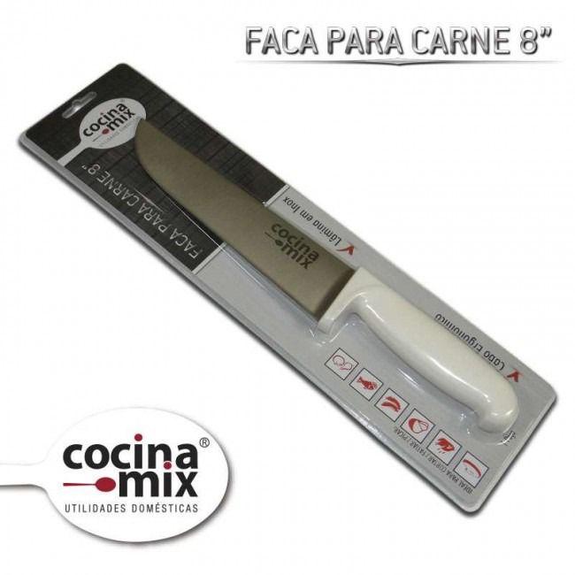 """Faca Para Carne 8""""- Cocinamix"""