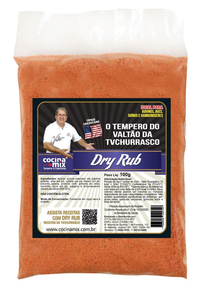 Tempero Dry Rub 100g