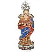 imagem de Nossa Senhora da APRESENTAÇÃO, fatura popular, Bahia século XIX