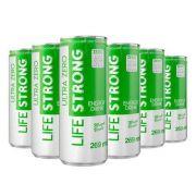 ENERGÉTICO LIFE STRONG - ULTRA ZERO - MAÇA VERDE - PACK COM 24
