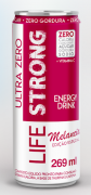 LIFE STRONG ENERGY DRINK ULTRA ZERO - MELANCIA - PACK COM 24