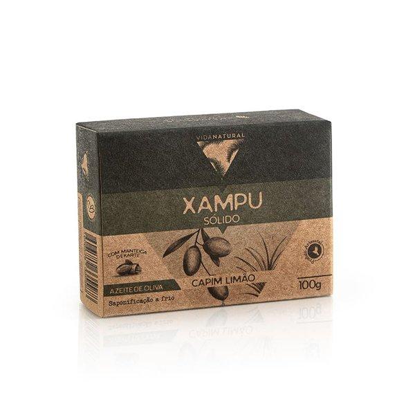 Xampu Capim Limão e Lavanda 100g VIDA