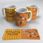 Canecas Orange Black