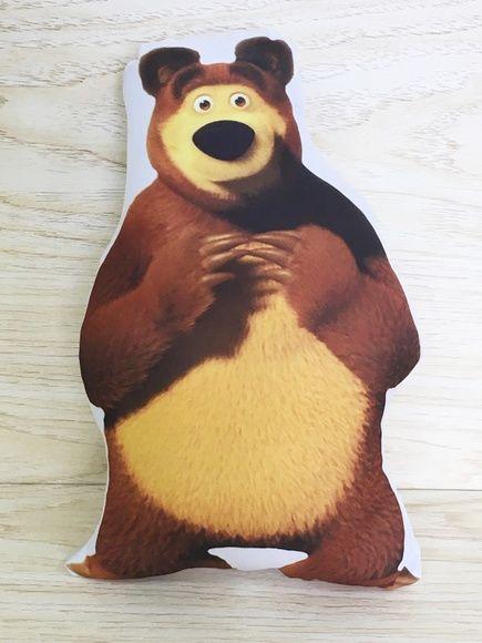 Almofadas Masha e o Urso