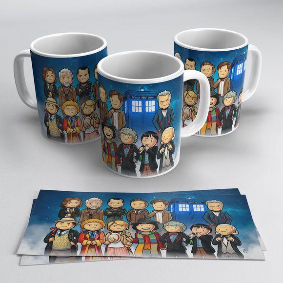 Canecas Doctor Who