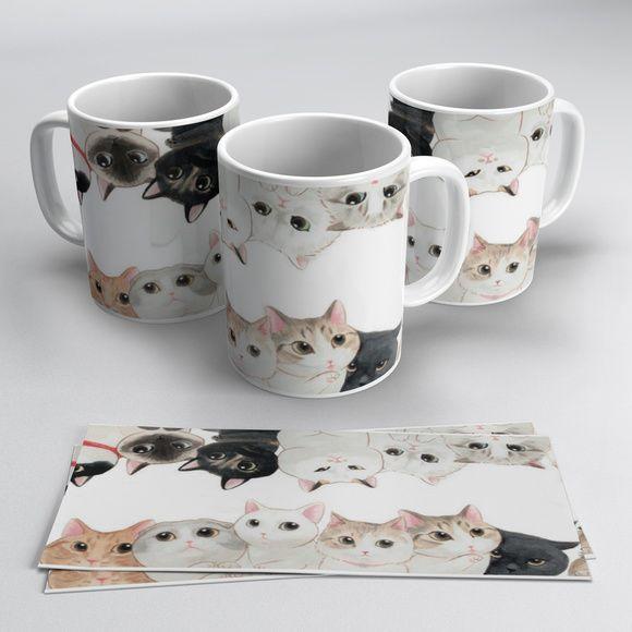 Canecas Gatos