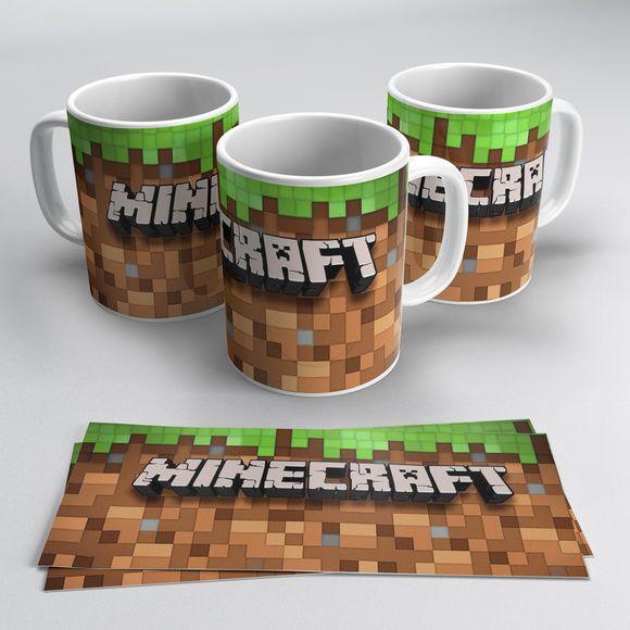 Canecas Minecraft