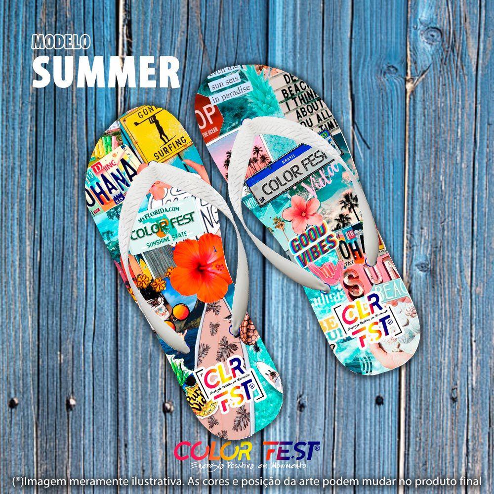 Chinelo Color Fest®