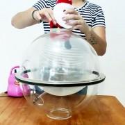 Máquina Embaladora de Globos Balões Colocar Pelúcia Bolas Surpresas