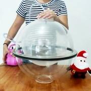 Kit 2un Máquina Embaladora de Globos Balões Colocar Pelúcia Bolas Surpresas