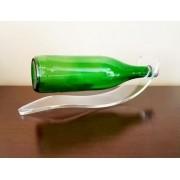 Kit 2un Suporte Bebidas Vinhos Flutuante Whisky Decoração Acrílico