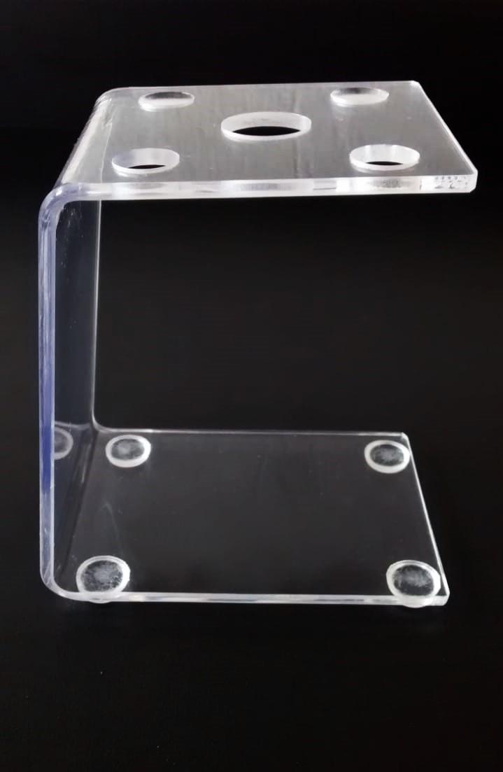 Kit 3un Suporte Dermografo Clean Tebori Micropigmentacao Acrilico