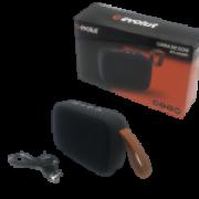 Caixa de som Evolut Portátil, Bluetooth 5.0, Rádio FM, 3W - EO-650BK