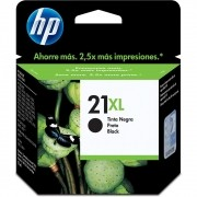 Cartucho HP 21XL Preto Original