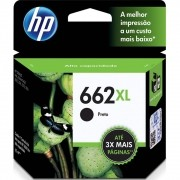 Cartucho HP 662XL Preto Original