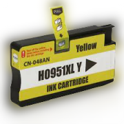 CARTUCHO COMPATÍVEL HP 951 951XL CN-046AL YELLOW - IMPRESSORAS HP 8100 8610 8620 251DW 8600W