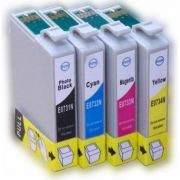 KIT CARTUCHO EPSON TO73, 731, 732, 733, 734, 73N - TX200, TX210, CX7300 TODAS CORES