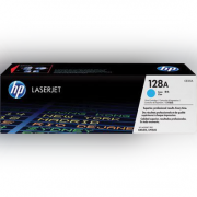 Toner HP 128A Cian Laserjet Original (CE321AB) Para CM1415fn, CM1415fnw, CP1525nw CX 1 UN
