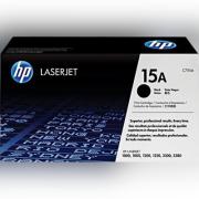 Toner HP 15A Preto Laserjet Original (C7115A) Para HP Laserjet 1000, 1005, 1200, 1200n, 1200se, 1220, 1220se, 3300, 3310, 3320, 3320N, 3330, 3380 CX 1 UN