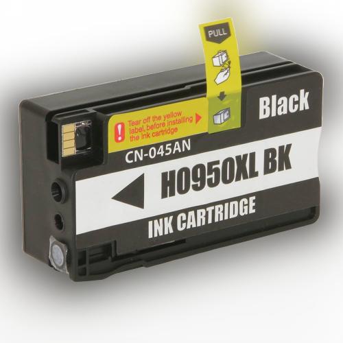 CARTUCHO COMPATÍVEL HP 951 951XL CN-046AL BLACK  - IMPRESSORAS HP 8100 8610 8620 251DW 8600W